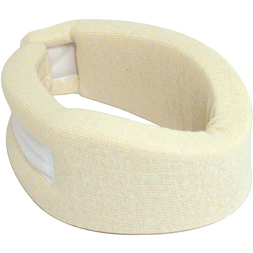 "DMI Neck Brace for Neck Pain, Universal Firm Foam Cervical Collar for Neck Pain and Sleeping Support, 2 1/2"" wide"