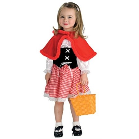 Toddler Adorable Little Red Riding Hood Costume - Red Riding Hood Dress Up