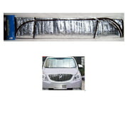 auto car sun shade foldable metallic sun visor wind shield reflective car truck