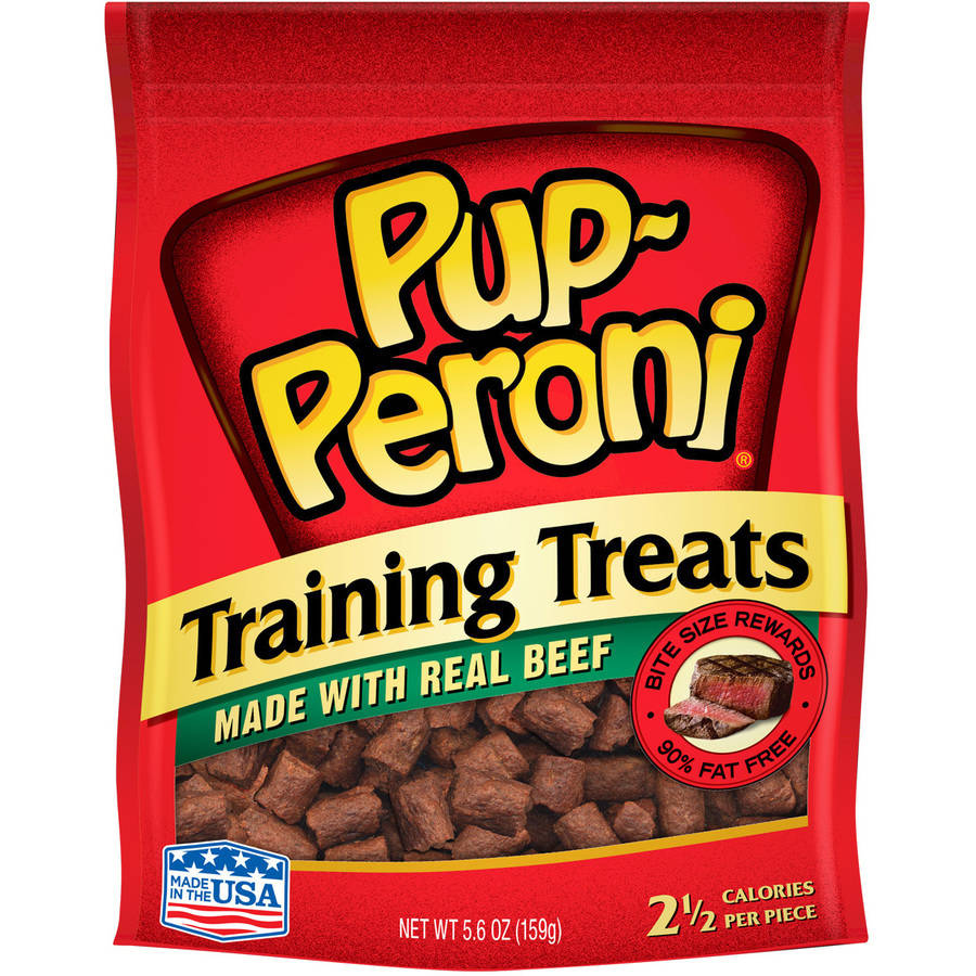 Pup-Peroni Training Treats Made with Real Beef Dog Snacks, 5.6-Ounce