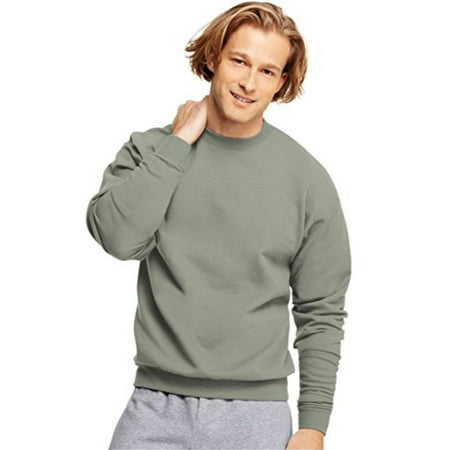 2ea4780f Hanes ComfortBlend® EcoSmart® Crew Sweatshirt, Stonewashed Green, Medium -  image 1 of ...