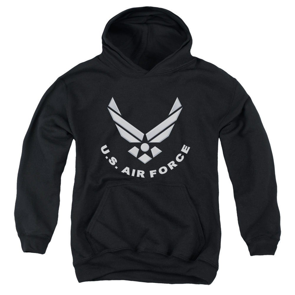 Air Force Logo Big Boys Pullover Hoodie