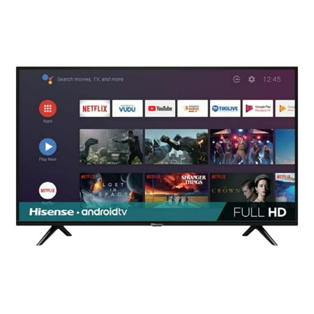 "Hisense - 40"" Class H55 Series LED Full HD Smart Android TV"