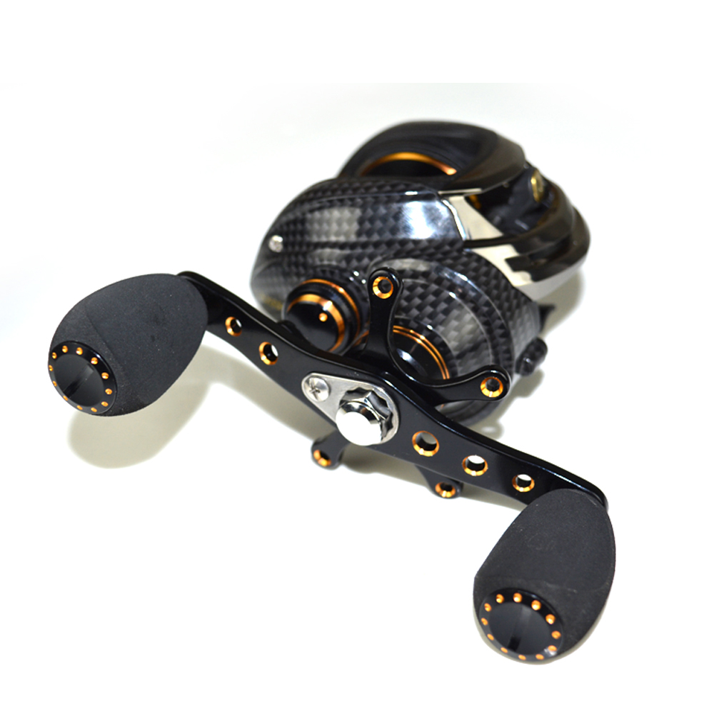 17+1 Ball Bearings Left   Right Hand Fishing Reel 7.0:1 Bait Casting Reels with One Way Clutch by