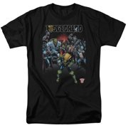 Judge Dredd - Behind You - Short Sleeve Shirt - X-Large