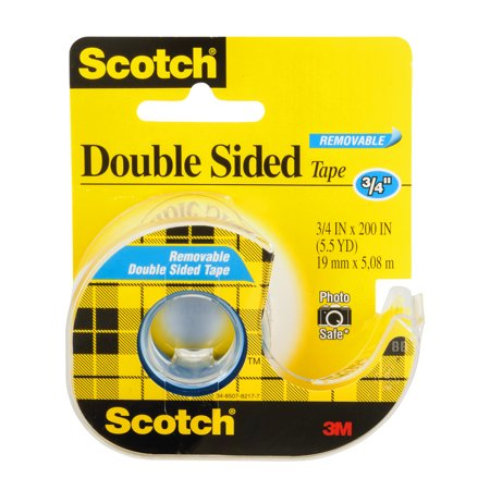 scotch double sided tape 3 4 5 5 yards. Black Bedroom Furniture Sets. Home Design Ideas