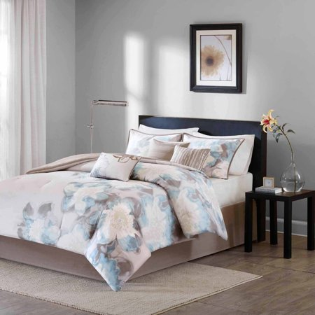 Home Essence Jasmine 7-Piece Cotton Bedding Comforter Set