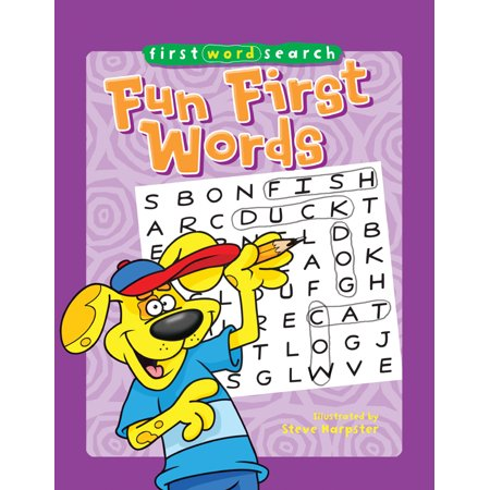 First Word Search: Fun First Words (10 Halloween Words)