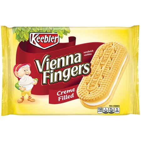 Keebler Vienna Fingers Creme Filled Sandwich Cookies  14 2 Oz