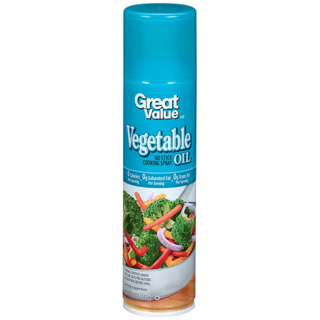(3 Pack) Great Value Original Cooking Spray, 8 (Best Popcorn Butter Spray)