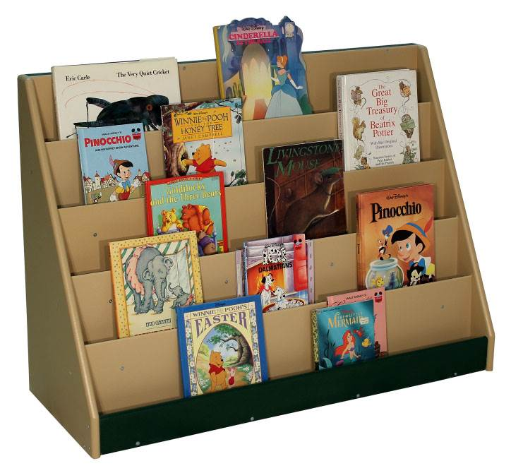 Outdoor and Indoor Book Display in Natural