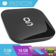 Matricom's New G-Box Q3 - Android Nougat Quad/Octo Core Streaming HD Device [2GB/16GB/4K]
