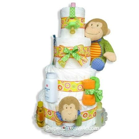 Baby Monkey 4 couches de gâteau