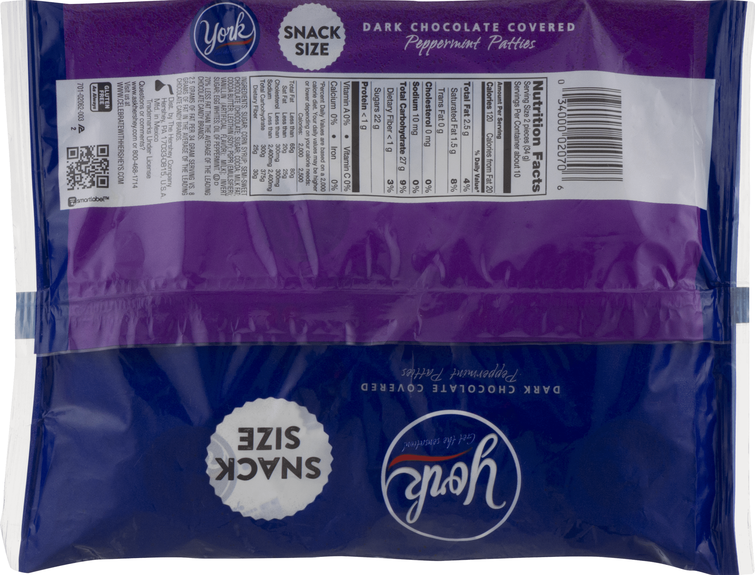 Calories peppermint patty