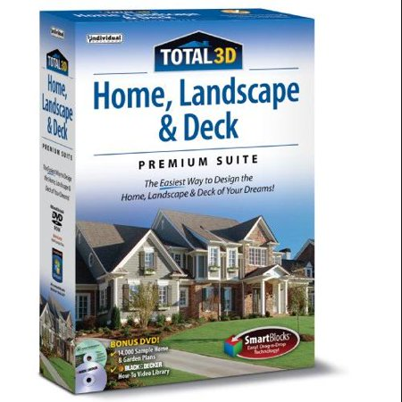 Total 3d home landscape and deck suite 12 for Home design 3d outdoor garden 4 0 8