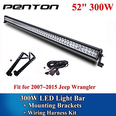 rtr 3 wire harness wire penton reg 300w 54 inch led driving work light bar off road penton wire harness #6
