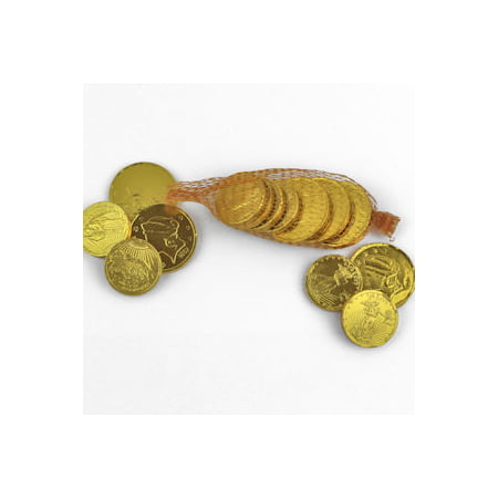 Wockenfuss Candies Milk Chocolate Gold Coins, 3 bags - Coin Chocolate