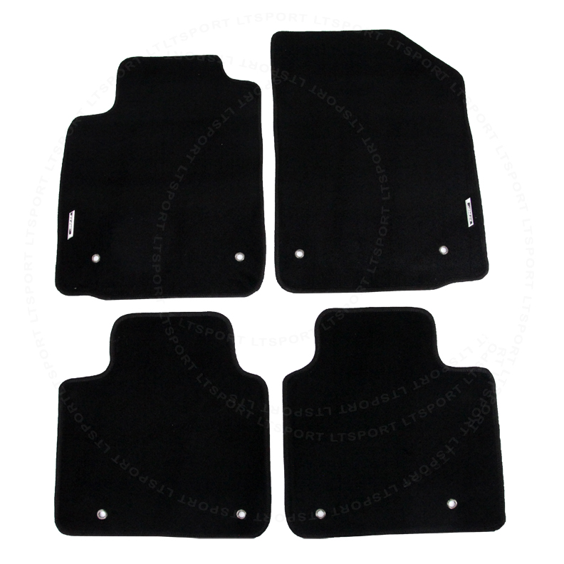 Superior For 07 12 Lexus ES350 Custom Fit Premium Nylon Black Floor Mats Carpet For  2007