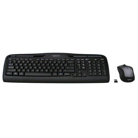 Refurbished Logitech MK335 Wireless USB Full Size Keyboard Laser Mouse Bundle - 920-008478