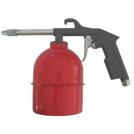 "Speedaire 22YK57 Black Syphon Spray Gun 8-1/4""L"