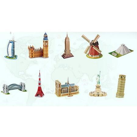 Big Ben 3D Three-Dimensional Puzzle Educational Toys Children Puzzle - image 3 de 6