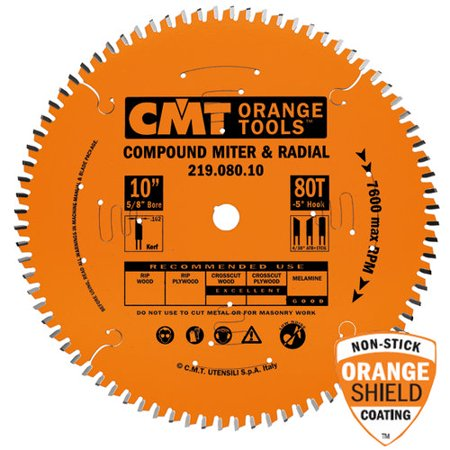 CMT Compound Miter & Radial Blade 10