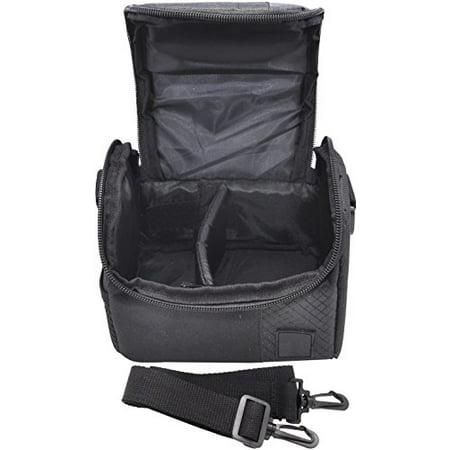 Small Soft Padded Camera Equipment Bag / Case For Canon, Nikon, Sony, Samsung, Olympus, Pentax, Panasonic & More + eCostConnection Microfiber - Small Equipment