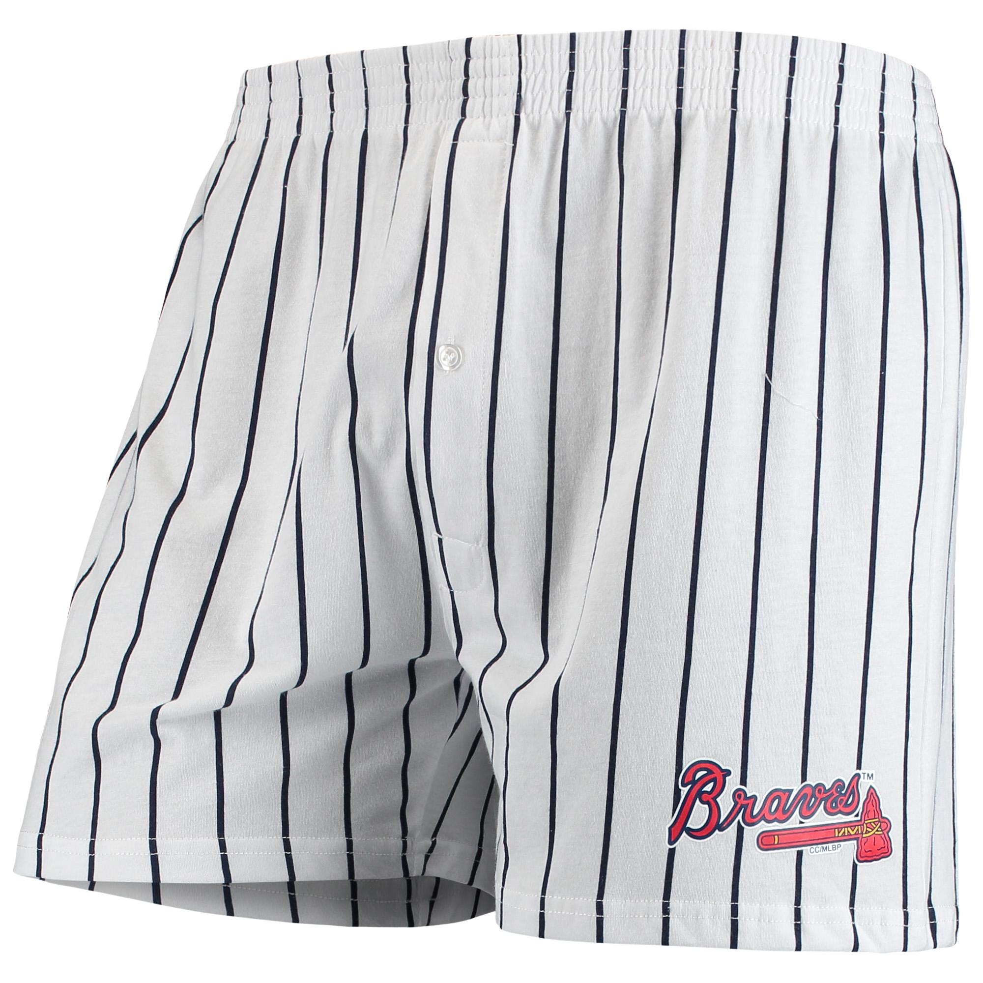 Atlanta Braves Concepts Sport Vigor Boxer Shorts - White