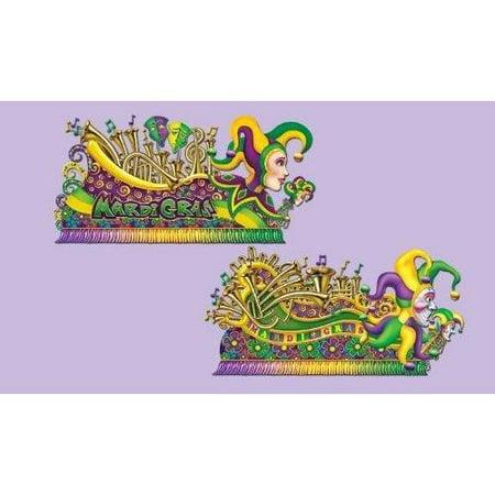 Mardi Gras Insta-Theme Float Props 65-67in. 2/Pkg