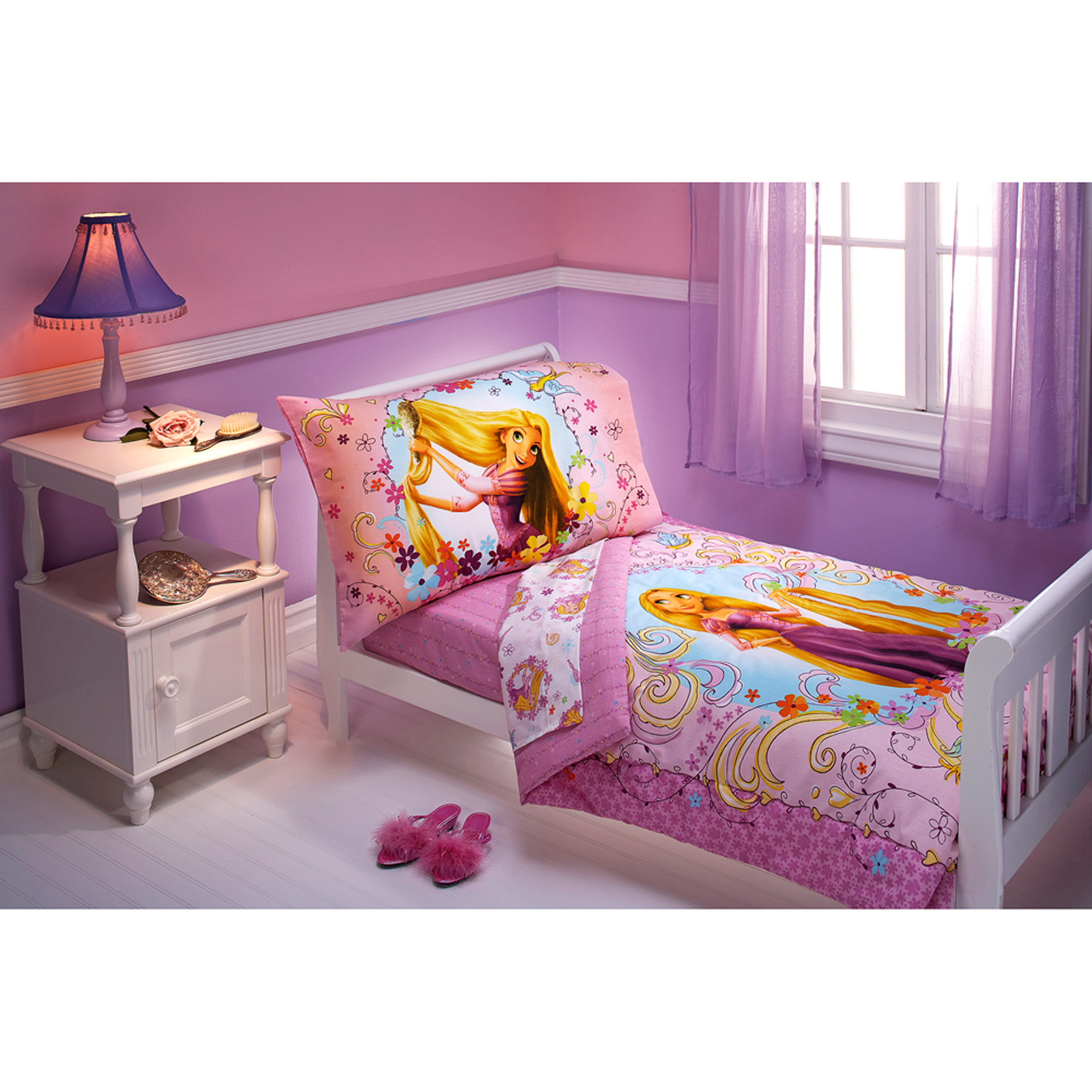 Disney Tangled 4-Piece Toddler Bedding Set