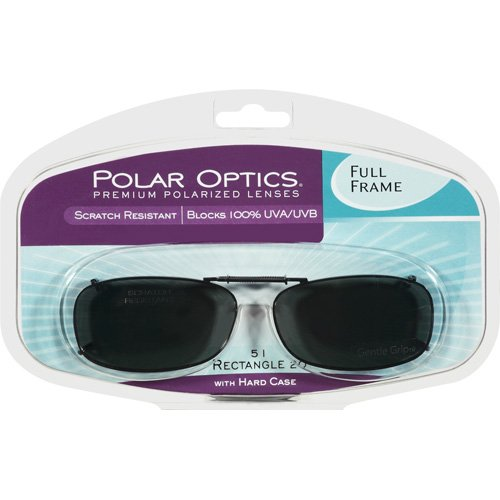 Polar Optics: Clipons Premium Polarized 51 Rectangle 20 Lenses, 2 ct