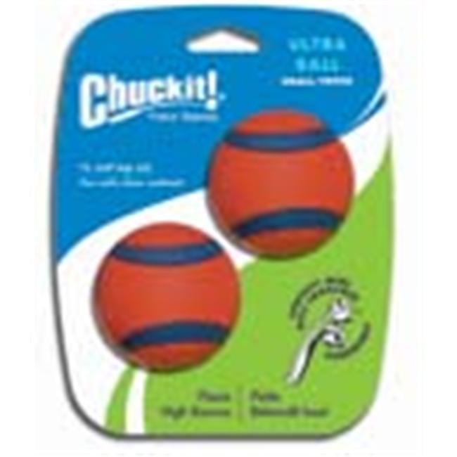 Canine Hardware 17020 Orange Ultra Ball 2 Inch/2 Pack