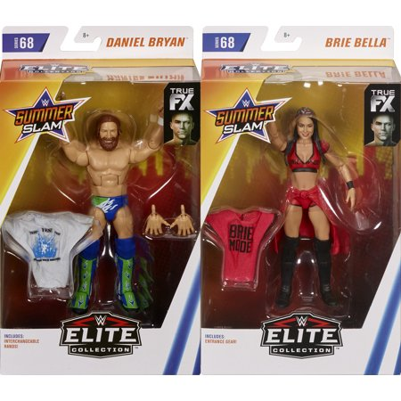 Package Deal - (Set of 2) Brie Bella & Daniel Bryan - WWE Elite 68 - Wwe Divas Bella Twins