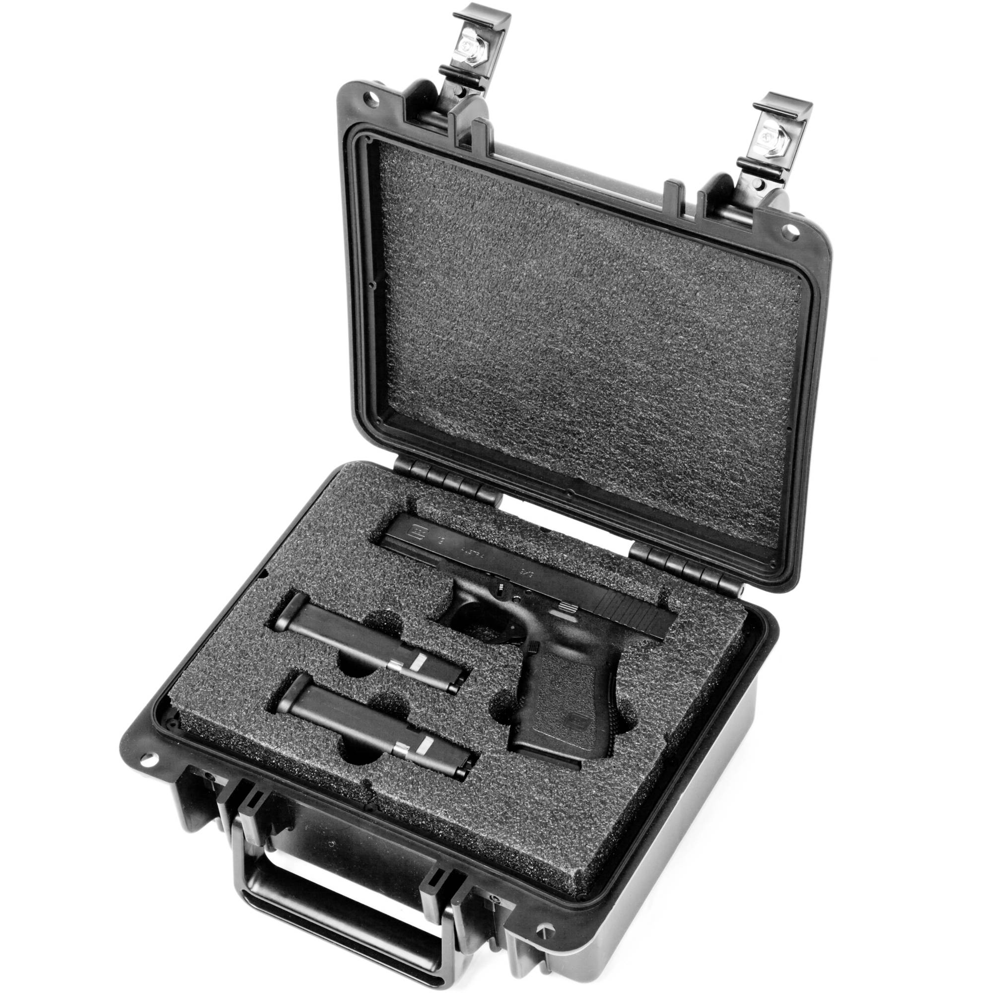 Quick Fire Glock 19, 23, 25, 32, 38 Pistol Case, QF300-G02 by