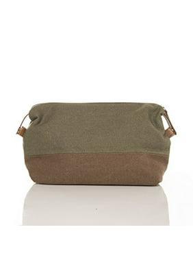 cba7bd9ae6 Product Image SMB Group Original Toiletry Bag (Military Green   Brown)