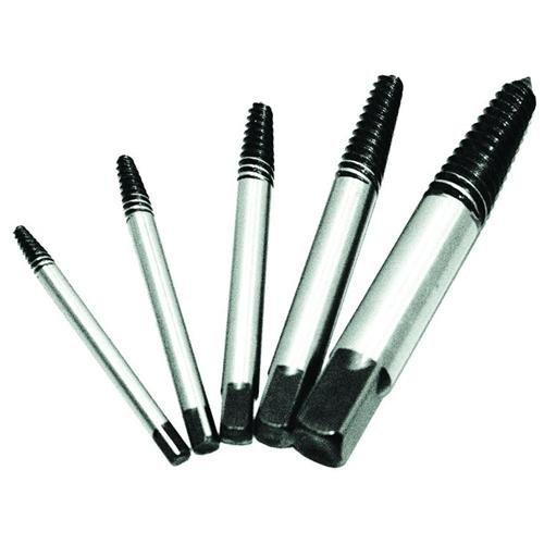K Tool International KTI-70040 5 Piece Spiral Screw Extractor Set