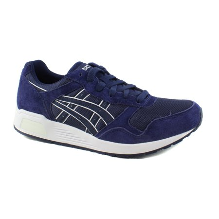 ASICS Mens Lyte-Trainer Peacoat/Peacoat Running Casual (Nike Dual Fusion X2 Mens Running Shoes)