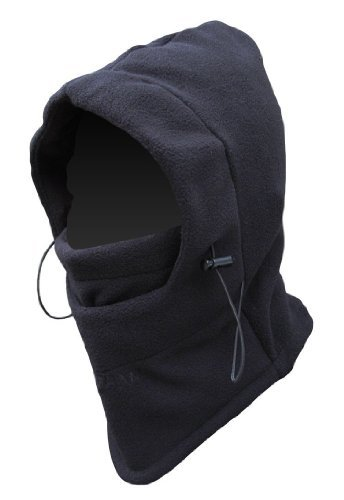 Thermal Fleece 6 in 1 Balaclava Hood Face Mask Neck Warmer Wind Stopper Snow New