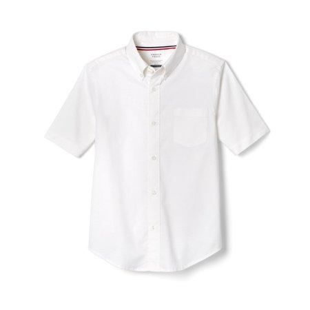 French Toast Toddler Boys School Uniform Short Sleeve Oxford Shirt (Toddler  Boys)
