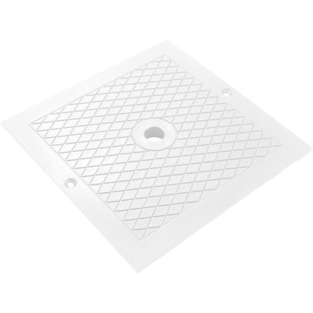 Skimmer Cover Square White - Skimmer Faceplate Cover