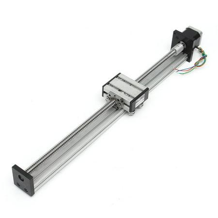 1204 Ball Screw Slide Rail Guide CNC Linear Slide Stroke 400MM Long Stage  Actuator Stepper Motor