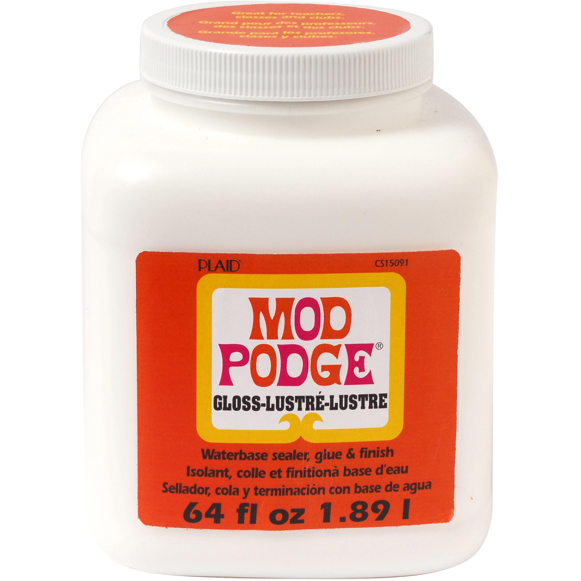 Mod   Podge Gloss, Glue, Sealer and Finish for Decoupage by Plaid, 64 oz.