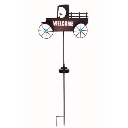 Moonrays 96303 Welcome Truck Solar stake light