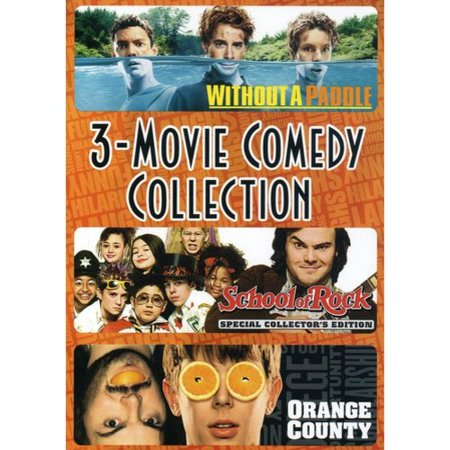 Without A Paddle   School Of Rock   Orange County  Triple Feature   Widescreen