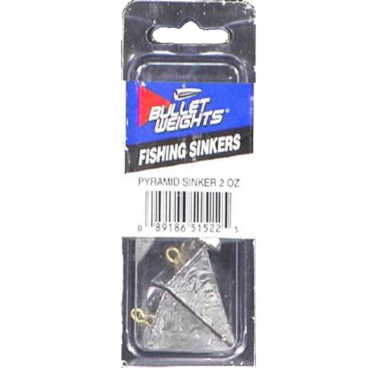 4 oz pyramid fishing sinkers 20 pack