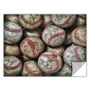 ArtWall ArtApeelz 'Baseballs' by Antonio Raggio Photographic Print