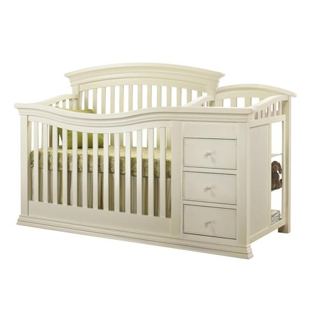 Sorelle Verona 4 In 1 Convertible Crib And Changer French