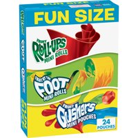 Fruit Roll-Ups, Fruit By The Foot & Gushers, 9.96 oz