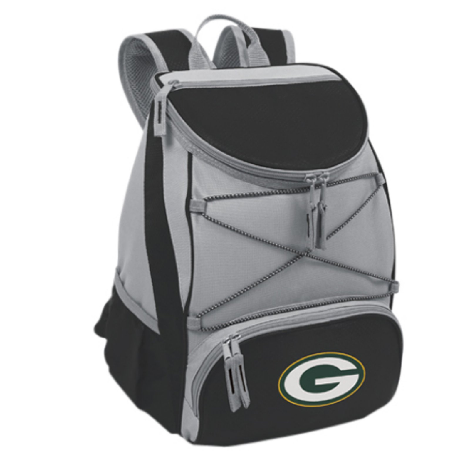 Picnic Time PTX Cooler, Black Green Bay Packers Digital Print