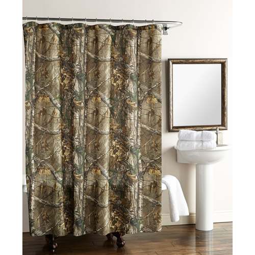 Real Tree Xtra Shower Curtain Walmart Com